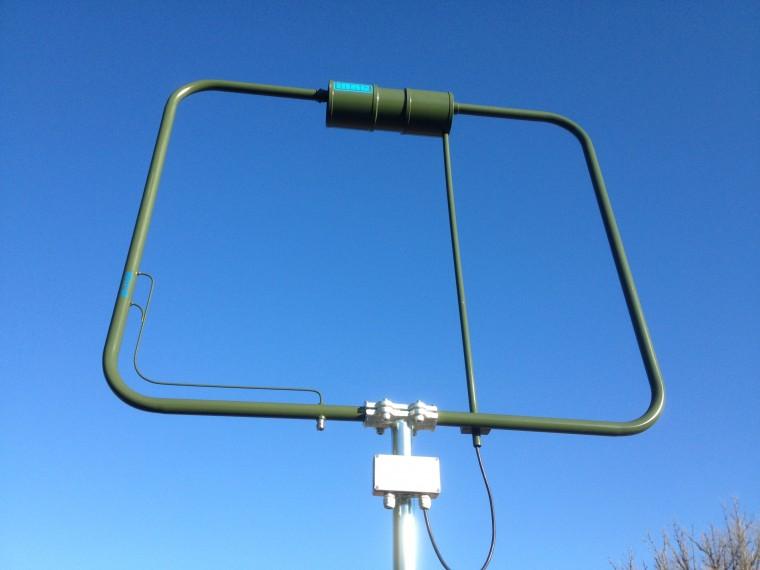 Color de la antena