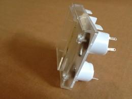 Instrumento de agujas cruzadas vertical