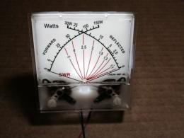 Instrumento de agujas cruzadas horizontal