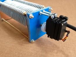 CV-4M Condensador variable de 10/210+210 motor